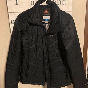 Columbia Omni- shield jacket-black